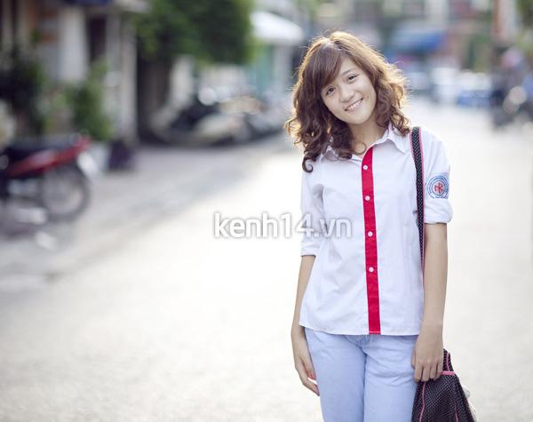 Ngắm hot girl Việt mặc đồng phục giản dị nhưng vẫn cực xinh 4