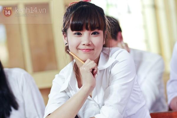 Ngắm hot girl Việt mặc đồng phục giản dị nhưng vẫn cực xinh 17