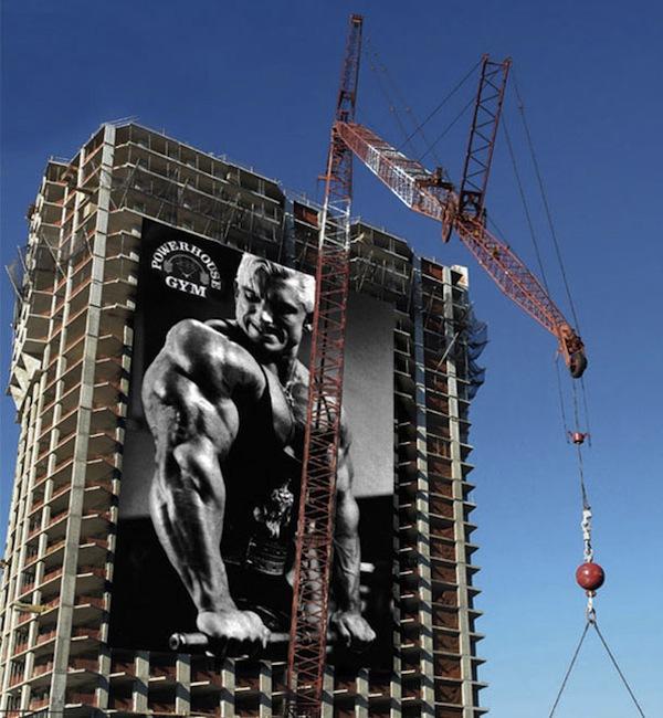 """Quảng cáo đồ vật khổng lồ sáng tạo đến """"bá đạo"""" 15"""