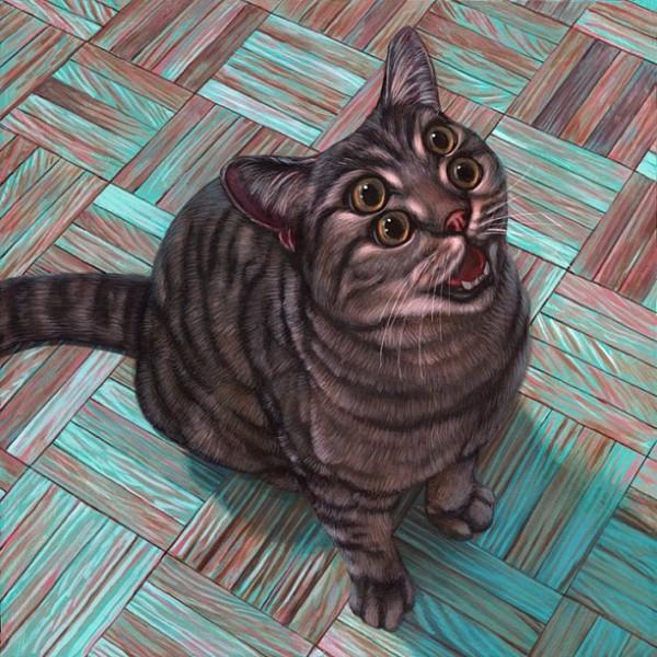 """Loài mèo biến hình qua những sáng tạo """"buồn cười"""" 12"""