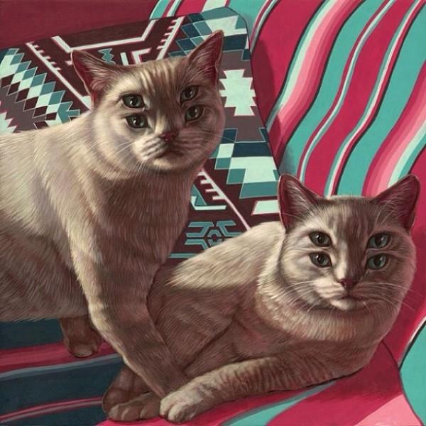"""Loài mèo biến hình qua những sáng tạo """"buồn cười"""" 14"""