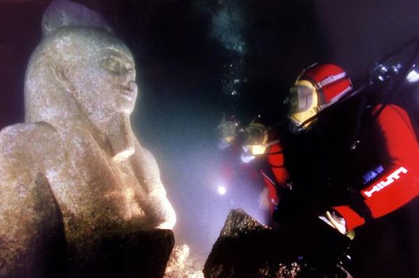 """Tái tạo """"thành phố Atlantis Ai Cập"""" bị nhấn chìm từ 1.200 năm trước 5"""