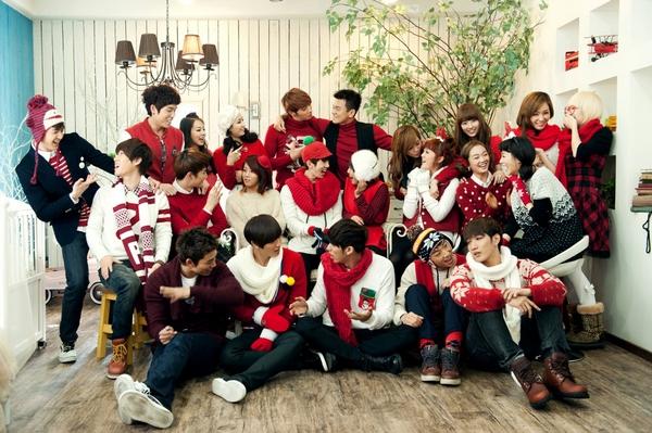 Tuyển tập các MV Giáng sinh gia đình của Kpop 2