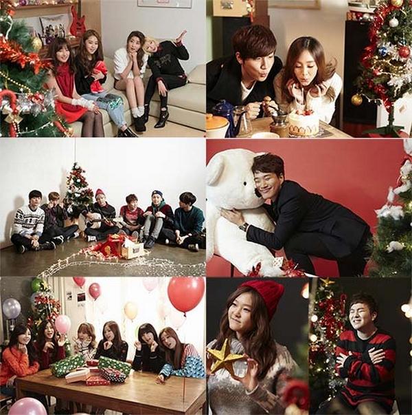 Tuyển tập các MV Giáng sinh gia đình của Kpop 11