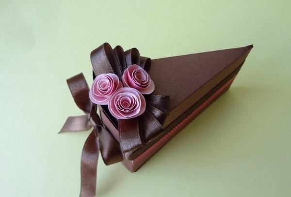 Tự chế hộp quà miếng bánh ngọt ngào đáng yêu 9