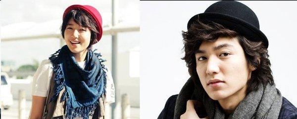"""Nếu Park Shin Hye làm """"em gái đẹp trai"""" của Lee Min Ho 6"""