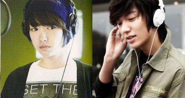 """Nếu Park Shin Hye làm """"em gái đẹp trai"""" của Lee Min Ho 3"""