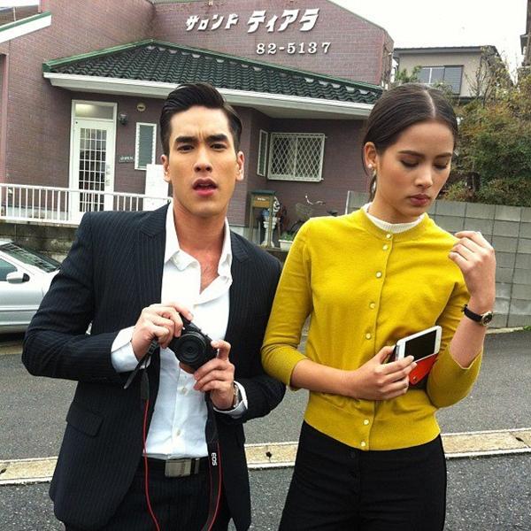 """""""Couple"""" đẹp nhất màn ảnh Thái tình tứ tại Nhật 7"""