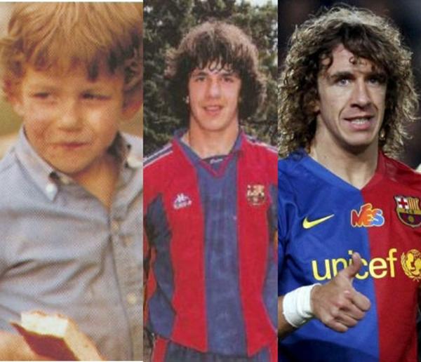 Những hình ảnh ngộ nghĩnh của sao bóng đá thời ấu thơ 23