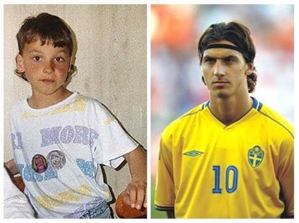 Những hình ảnh ngộ nghĩnh của sao bóng đá thời ấu thơ 3
