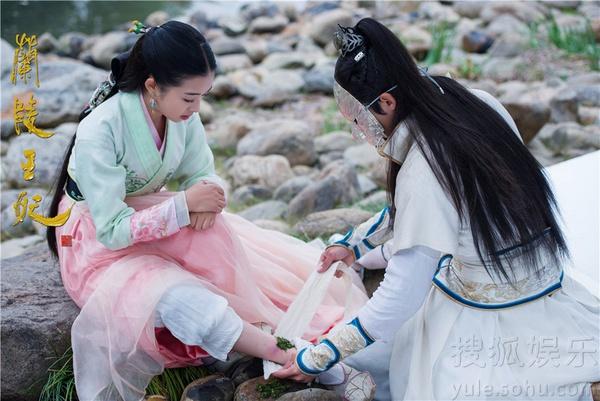 Chiến thần Lan Lăng Vương khoe ảnh xinh hơn con gái 7