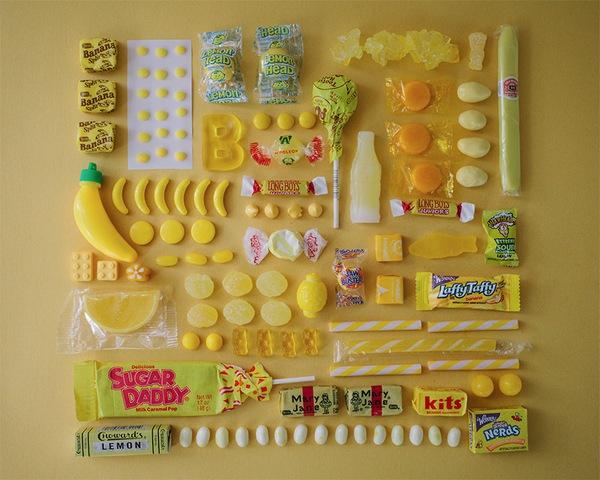 Chảy nước miếng với bộ ảnh màu sắc thể hiện qua kẹo ngọt 5