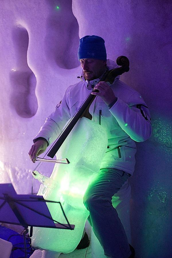 Thưởng thức âm nhạc với những nhạc cụ băng giá tại Thụy Điển 6