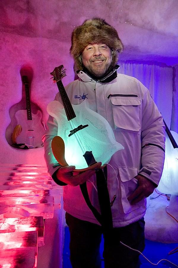 Thưởng thức âm nhạc với những nhạc cụ băng giá tại Thụy Điển 7