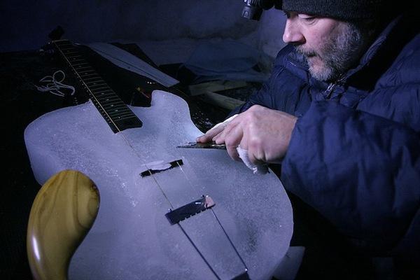 Thưởng thức âm nhạc với những nhạc cụ băng giá tại Thụy Điển 13