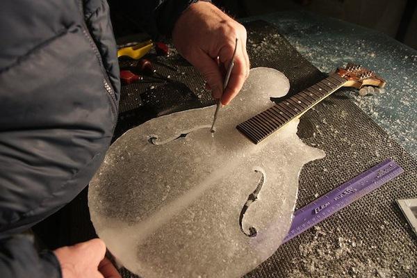 Thưởng thức âm nhạc với những nhạc cụ băng giá tại Thụy Điển 14
