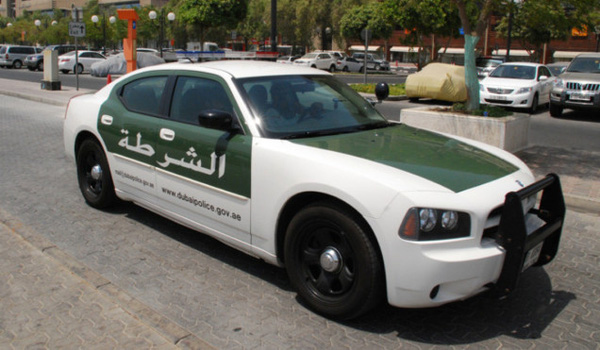 Lác mắt với bộ sưu tập xế hộp của cảnh sát Dubai 1