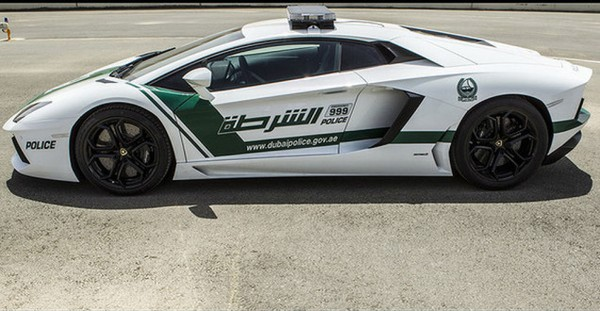 Lác mắt với bộ sưu tập xế hộp của cảnh sát Dubai 6