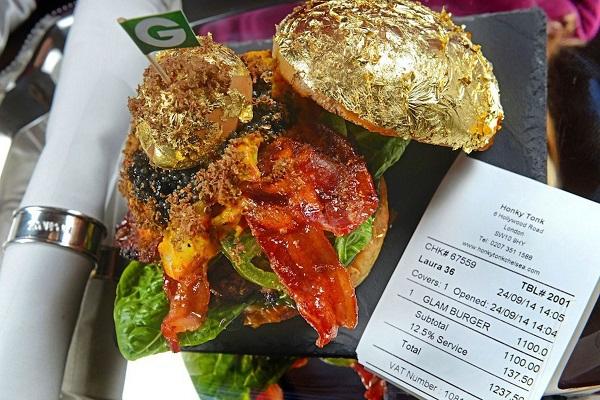Bánh hamburger đắt nhất thế giới, giá gần 38 triệu đồng 1