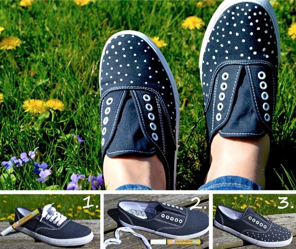 Ý tưởng làm mới cho đôi giày thêm cá tính 6