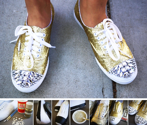 Ý tưởng làm mới cho đôi giày thêm cá tính 2