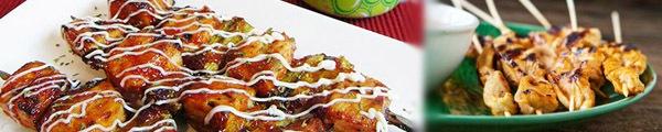 Gà nướng Yakitori với sốt thơm ngon dễ làm 2