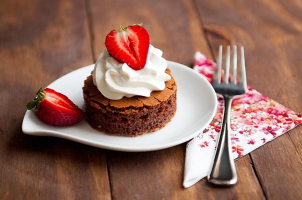 Bánh chocolate làm bằng bột nếp cực lạ mà siêu ngon 9
