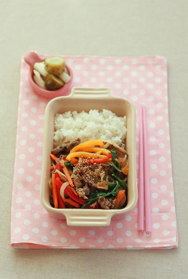 Ăn miến trộn Hàn Quốc thanh mát dễ làm 9