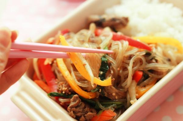 Ăn miến trộn Hàn Quốc thanh mát dễ làm 11