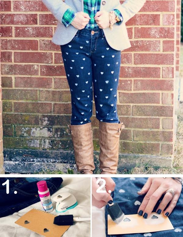 7 cách đơn giản biến hóa cho chiếc quần jeans cũ 7
