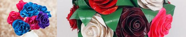 Những cách gấp bó hoa cực xinh chỉ từ tờ giấy trắng 5