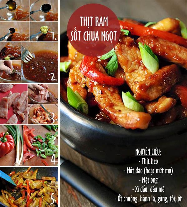Vừa lạ vừa quen với cơm thịt ram, canh kimchi 1