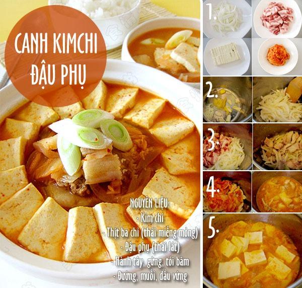 Vừa lạ vừa quen với cơm thịt ram, canh kimchi 3