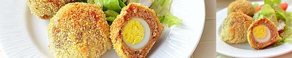Thịt bọc trứng lòng đào giòn rụm ngon bất ngờ 9
