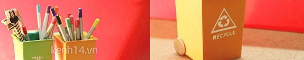 Những kiểu ống cắm bút đẹp - độc - lạ có thể tự làm 6