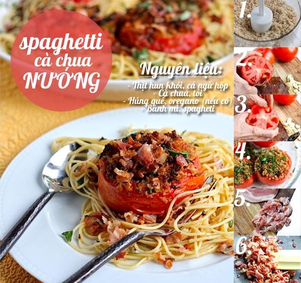 Thực đơn mì spaghetti hấp dẫn dễ ghiền cho ngày chán cơm 1