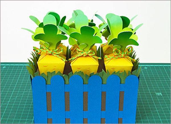 Ý tưởng hộp quà khu vườn cà rốt đáng yêu 8