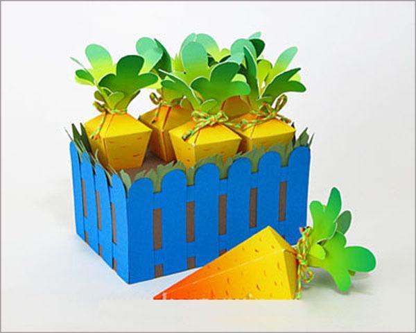 Ý tưởng hộp quà khu vườn cà rốt đáng yêu 9