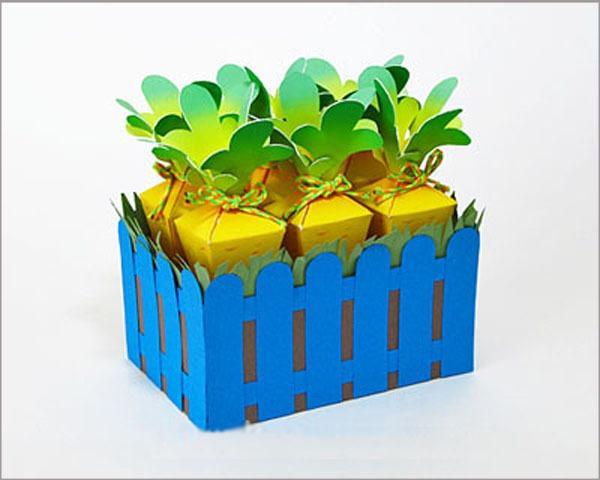 Ý tưởng hộp quà khu vườn cà rốt đáng yêu 10