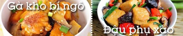 Ăn tối giản đơn với cá kho, rau xào trong ngày mưa 4