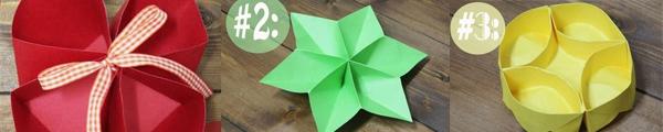 3 cách gấp hộp giấy origami nhanh và đẹp 4