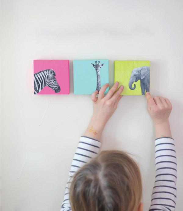 Ý tưởng làm bộ sưu tập tranh treo tường giản đơn bất ngờ 8