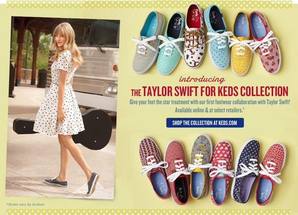 Bất ngờ với BST giày đầu tay cực bắt mắt của Taylor Swift 3