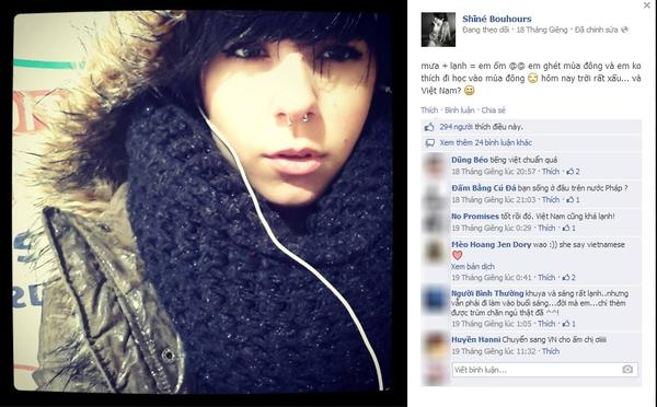 """Cô gái Pháp cover ca khúc """"Người nào đó"""" đốn tim cộng đồng mạng 9"""