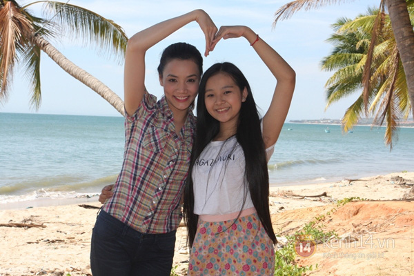 """Trang Nhung """"hồi teen"""" cùng Tiểu Angela 6"""