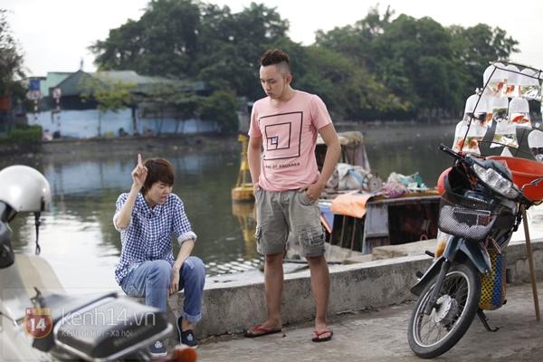 """""""Trai đẹp"""" Minh Hằng tít mắt bên tình địch 12"""