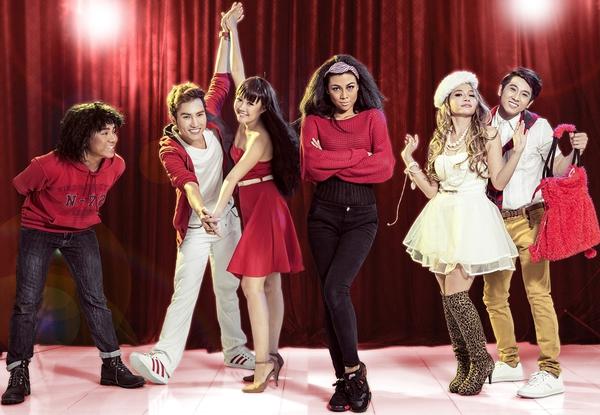 """Tạo hình sặc sỡ chất kịch của """"High School Musical"""" phiên bản Việt 17"""