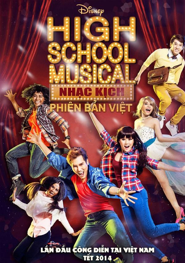 """Tạo hình sặc sỡ chất kịch của """"High School Musical"""" phiên bản Việt 1"""