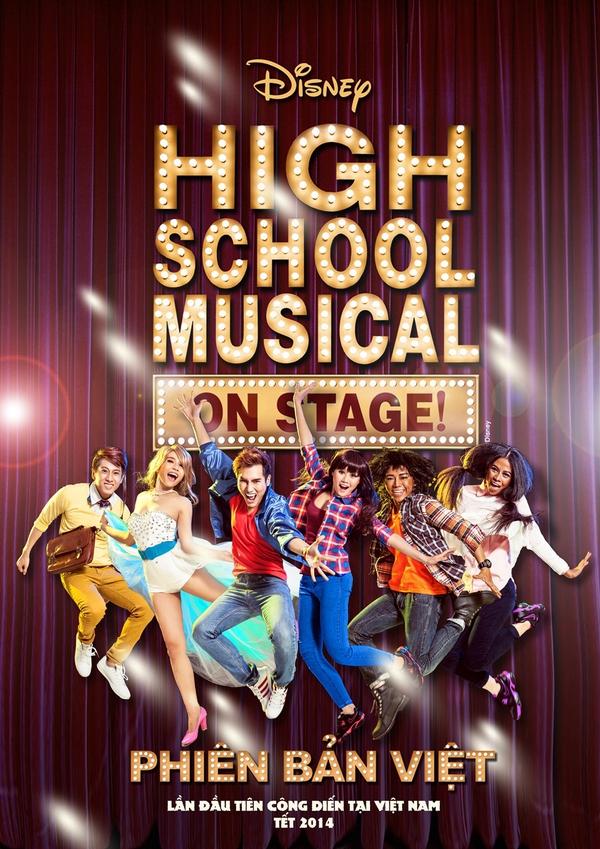 """Tạo hình sặc sỡ chất kịch của """"High School Musical"""" phiên bản Việt 2"""