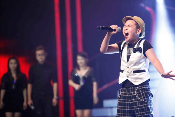 Giọng ca 10 tuổi gây bão tại Chung kết 2 Vietnam's Got Talent 4